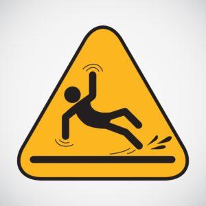 yellow caution sign, wet floor sign